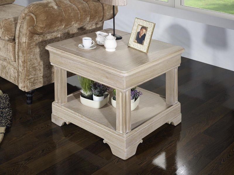 meuble en ch ne petite table basse ines r alis e en ch ne de style louis philippe finition ch ne. Black Bedroom Furniture Sets. Home Design Ideas