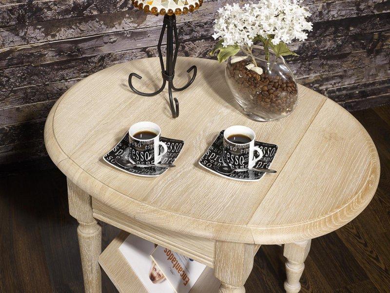 meuble en ch ne table basse ou bout de canap marc eric. Black Bedroom Furniture Sets. Home Design Ideas