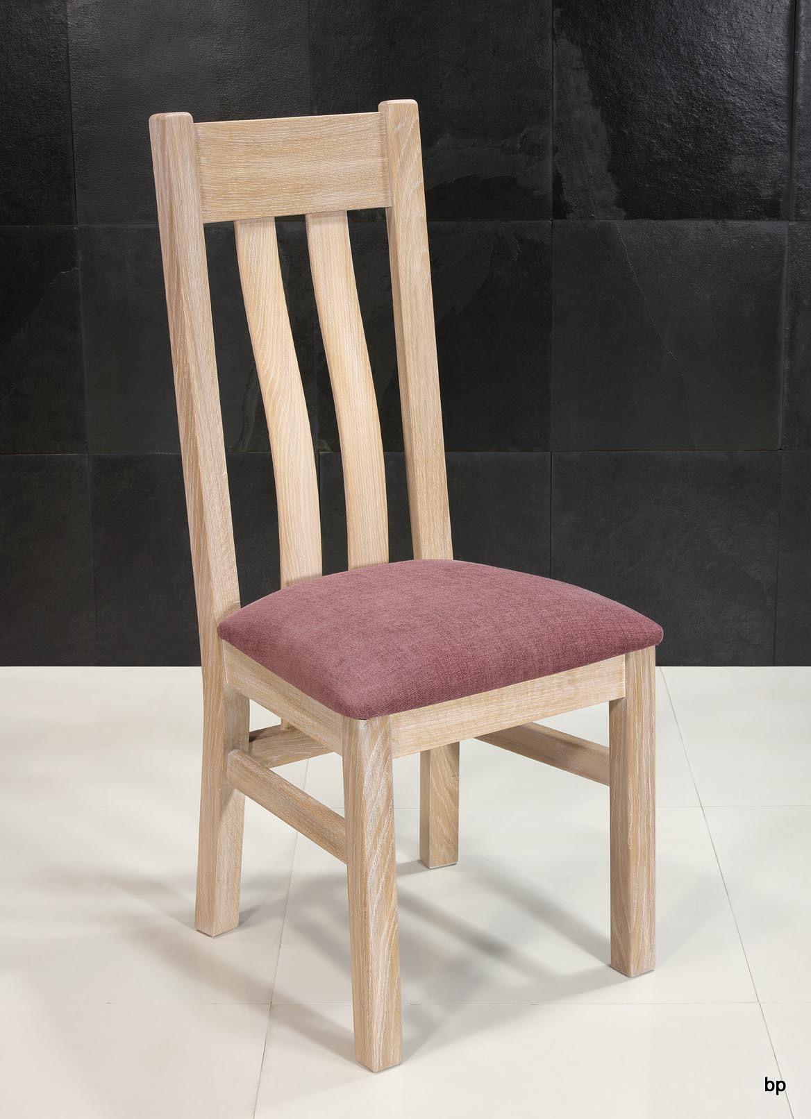 meuble en chêne Chaise Léonor réalisée en Chêne Massif
